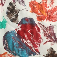 October Leaf Printing Paint Party Friday