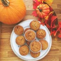 Pumpkin Oat Pecan Muffins RECIPE