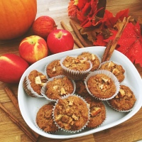 Apple Cinnamon Walnut Muffins RECIPE