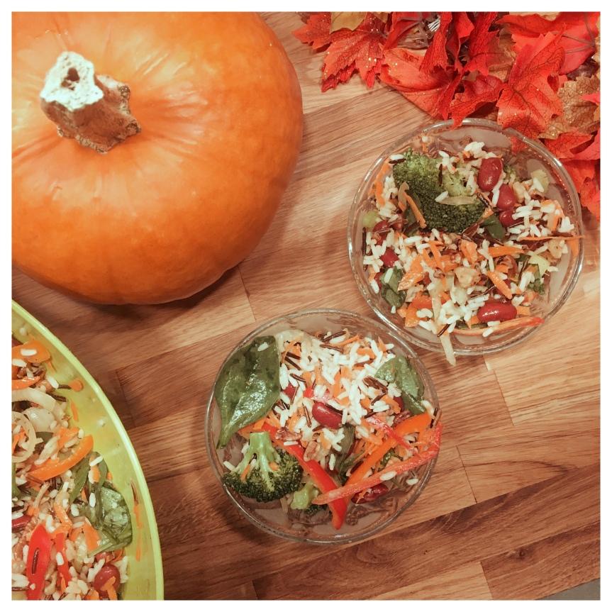 Autumn Wild Rice Vegetable SaladRECIPE