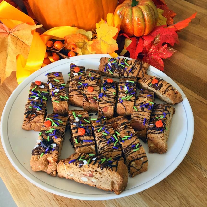 Autumn Almond BiscottiRECIPE