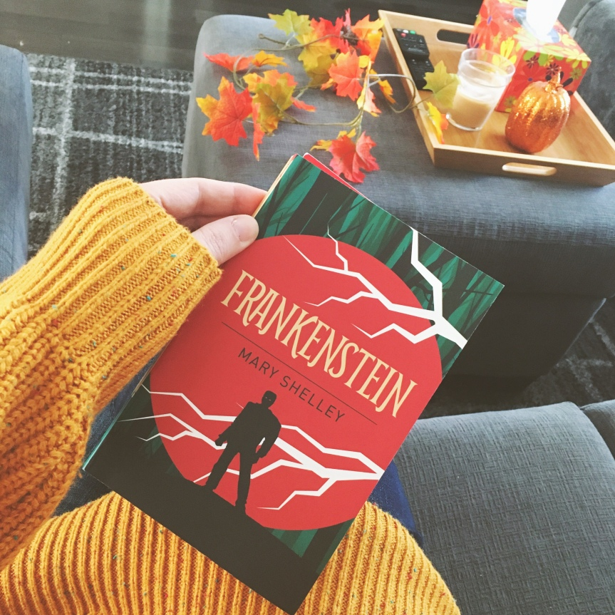 Frankenstein by Mary Shelley BookReview