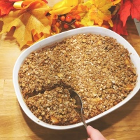 Sweet Apple Crumble Recipe