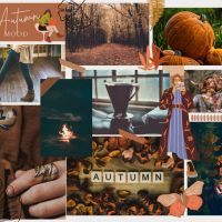 Autumn Mood Board And Wallpaper