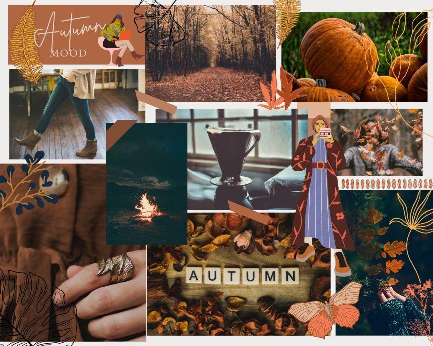 Autumn Mood Board AndWallpaper